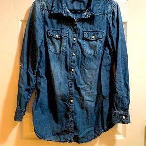H&M Denim Shirt 💓